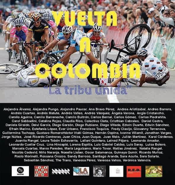 """Piso alto representa a Medellín en La Vuelta a Colombia """"La tribu unida"""""""